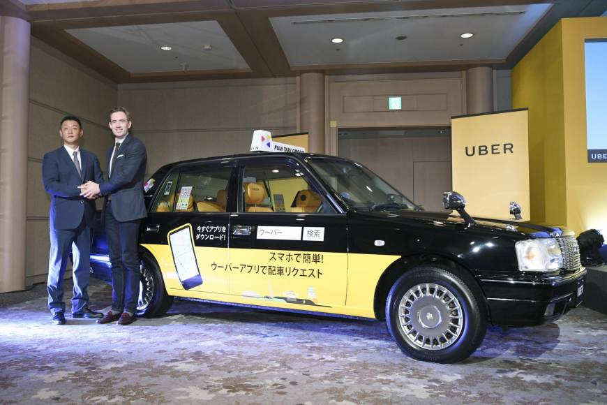 Uber joins hands with Fuji Taxi, sealing first Japan deal under new, pro-regulator approach