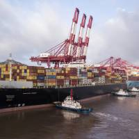 Companies are accelerating shipments from China to the U.S. before a 10 percent duty applies to $200 billion of Chinese imports on Monday. | BLOOMBERG