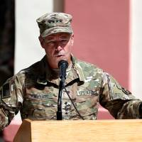 New U.S. general takes over command of NATO forces in Afghanistan, but peace still elusive