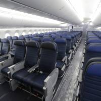 U.S. Congress takes aim at shrinking seats, legroom on airplanes