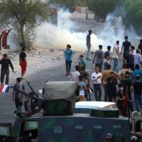 Iraq forces open fire on protesters during new clashes day after six are killed