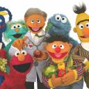Bert (right), Ernie (second from right) and other Muppets are seen in this file photo.