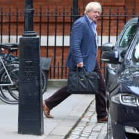 Boris Johnson has said the current Brexit plans would leave the United Kingdom half in and half out of the club it joined in 1973 and in effective 'enforced vassalage.' | REUTERS