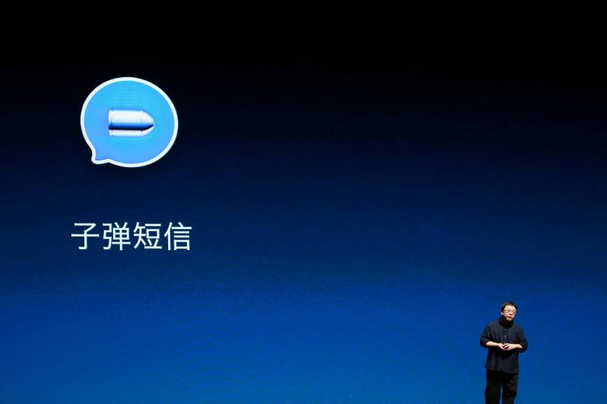 In WeChat-dominated China, new app Bullet Messenger scores sudden success