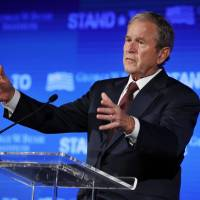 Bush quietly boosting Republicans in places where Trump isn't strong