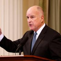 Jerry Brown   REUTERS
