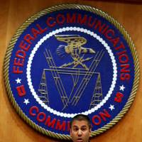 Federal Communications Commission Chairman Ajit Pai speaks ahead of the vote on the repeal of 'net neutrality' rules at the FCC headquarters in Washington on Dec. 14.   REUTERS