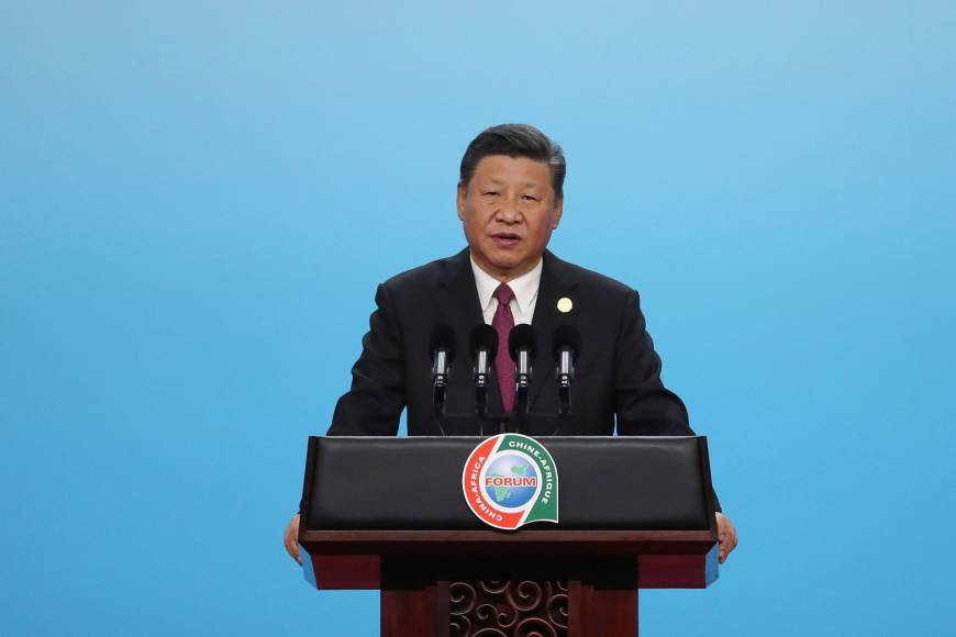 China's Xi says funds for Africa not for 'vanity projects'