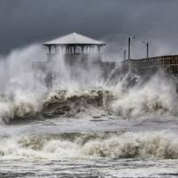 'Threat becomes reality' as Hurricane Florence lays drenching, blowing siege to Carolina coast