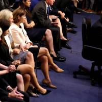 Brett Kavanaugh classmate who wrote of booze-fueled partying now goes silent