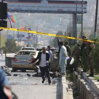 At least seven killed in suicide attack on Kabul commemorations