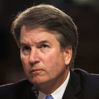Supreme Court nominee Brett Kavanaugh testifies on Thursday, the third day of his confirmation hearing before the Senate Judiciary Committee. | REUTERS