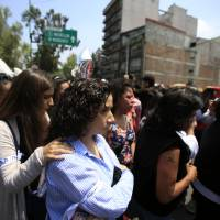 Mexico marks anniversaries of two deadly earthquakes, then holds drill