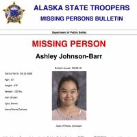 17 FBI agents help in search for missing girl in Alaska's far north, suspecting possible foul play