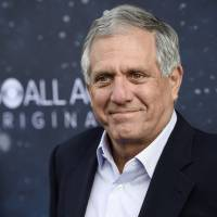 Les Moonves, chairman and CEO of CBS Corporation, poses at the premiere of the new television series 'Star Trek: Discovery' in Los Angeles last September. | CHRIS PIZZELLO / INVISION / VIA AP