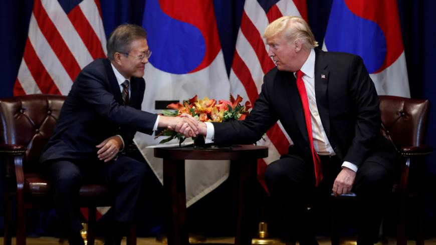 Trump says second Kim meeting in cards as Moon calls U.S. president 'only person' who can rid North Korea of nukes