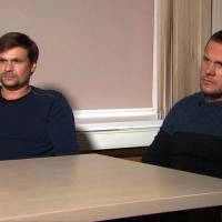 Russian suspects in U.K. nerve agent poisonings claim they visited Salisbury as tourists