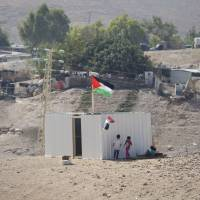 Palestinians file war crimes claim against Israel at ICC over West Bank Bedouin hamlet