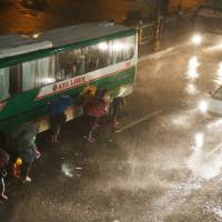 Ferocious Typhoon Mangkhut knocks out power as it plows through northeast Philippines
