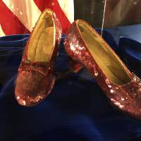 Stolen 'Wizard of Oz' slippers found after 13 years