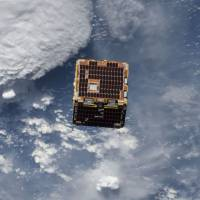 Tossed net snares space junk in orbit-cleanup experiment; next test to use harpoon