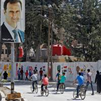 After years of war, students finally return to school in Syria's Ghouta region