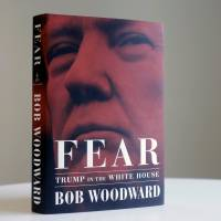 Bob Woodward's tell-all book 'Fear' sets up clash of titans with Trump