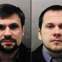 Britain charges two Russian military intelligence officers over Novichok poisoning of former double agent Sergei Skripal