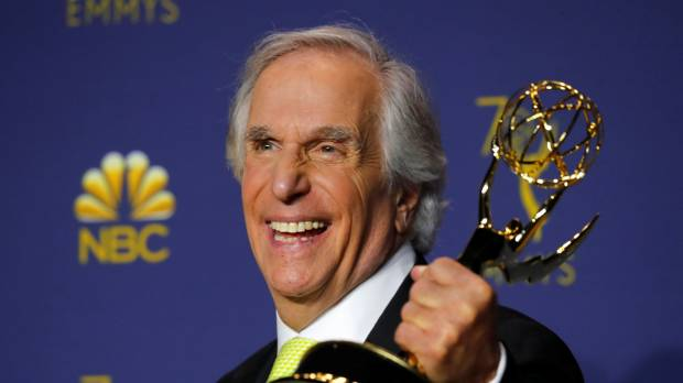 Ayyy! Henry Winkler, TV's 'the Fonz,' wins Emmy 42 years after first nomination