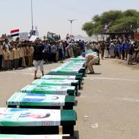 Saudi-led airstrike that left at least 51 dead on bus in Yemen is 'apparent war crime'