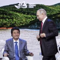 Putin suggests Russia and Japan agree to peace deal 'without any preconditions' by year's end
