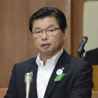 Town in Yamaguchi Prefecture adopts petition that opposes deployment of land-based Aegis missile defense battery unit