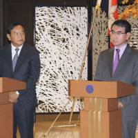 Japanese Foreign Minister Taro Kono expresses hope for Cambodia's continued development