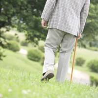 Elderly men who go out less than once a week are likely to suffer poor nutrition, according to a health ministry survey for 2017. | GETTY IMAGES