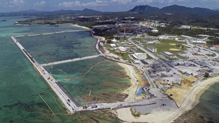 U.S. base relocation top issue in Okinawa gubernatorial election