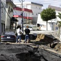 Powerful M6.7 earthquake rocks Hokkaido, causing massive landslides; nine dead and 31 reported missing