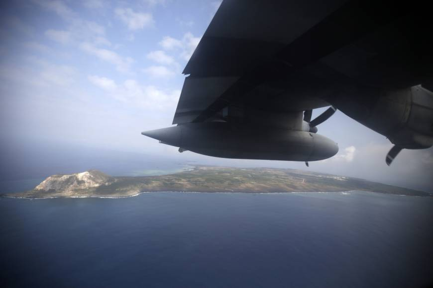 Undersea eruption detected at Iwo Jima as seawater is sent shooting into the air