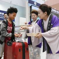 Kansai airport bounces back from typhoon but Kobe, Itami likely to help out anyway