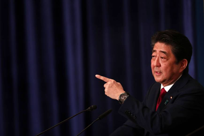 Abe Cabinet climbs to 41.7% in latest opinion poll