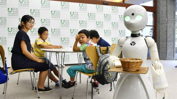 Cafe to showcase robot waiters steered from afar by people with ALS, other debilitating diseases