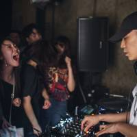 Bridging the East China Sea: Shanghai- and Taipei-based producer Tzusing plays the first Jyoto exchange in April. The event aims to create more connections between artists based in China and Japan. | JUN YOKOYAMA