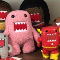 A marketable scowl: NHK's Domo-kun mascot became popular overseas after going viral on the internet. | ROB SOLO