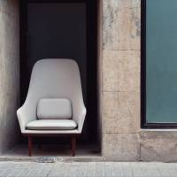 Multinational works: Stellar Works' Lunar Highback Chair, part of the Lunar range, is designed by Space Copenhagen and crafted in Shanghai.
