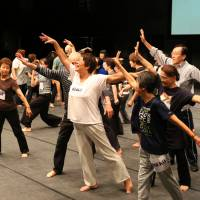 The benefits of the theater: Elderly people's theater groups are growing in popularity partially due to the mental and physical health benefits they offer performers. | © MAIKO MIYAGAWA
