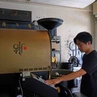 Roaster for rent: Glitch's Probat can be used by other coffee shops. | CLAIRE WILLIAMSON