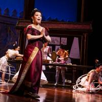 West End story: Naoko Mori as Lady Thiang in 'The King and I' at the London Palladium. | MATTHEW MURPHY