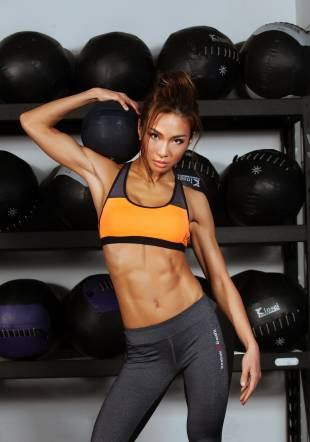 A reason to sweat: Fitness trainer Aya says before you start exercising you should make sure you