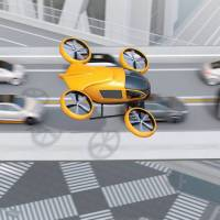 Coming soon: Flying cars that can zoom over congested roads could be a matter of a few years away.   GETTY IMAGES