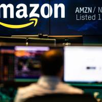 Amazon.com Inc. briefly became America's second trillion-dollar company on Tuesday after adding $434 billion to its market cap this year. | BLOOMBERG