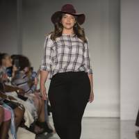 Fashion for everyone: During New York Fashion Week, plus size models took to the runway for Loft, a fashion brand that launched sizing up to 26 this year.   AP